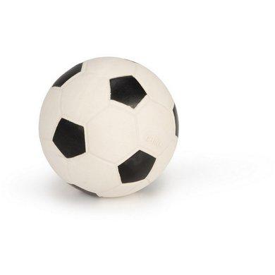 Latex voetbal zwart/wit