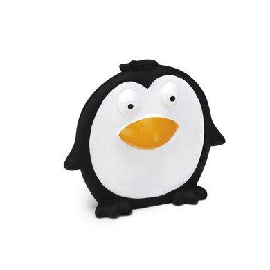 Beeztees Dog Toy Flat Pingy Vinyl Black 14cm