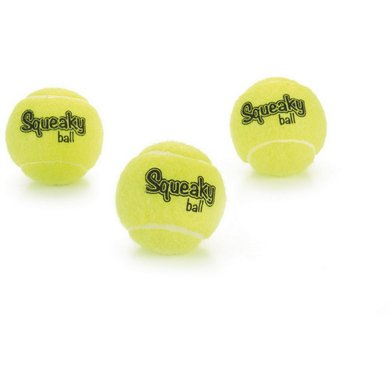 Beeztees Tennis Ball with Squeaker Yellow