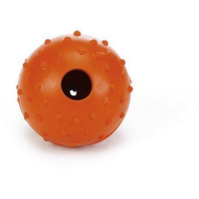 Beeztees Gummiball m. Glocke Orange