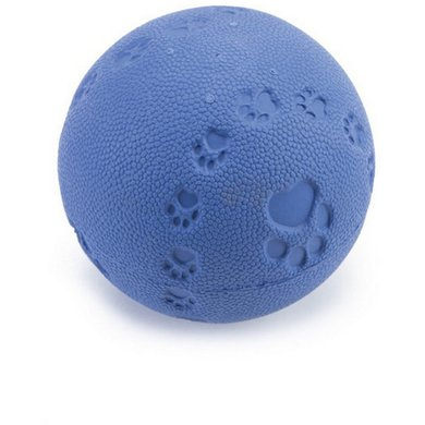 Beeztees Ball Rubber with a Squeaker Blue 7,5cm