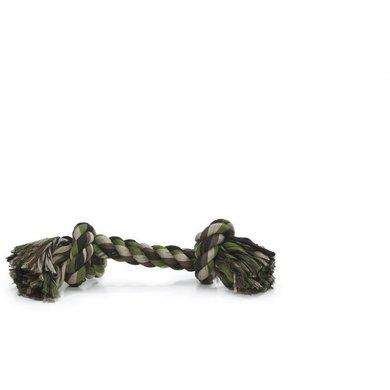 Beeztees Jouet à Mâcher 2 Boutons vert camouflage