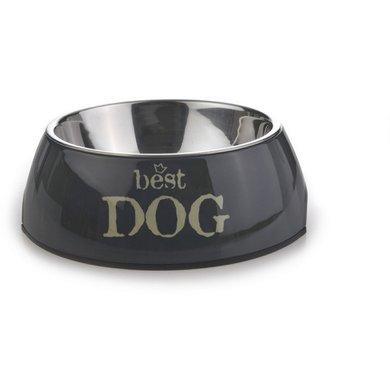 Beeztees Eetbak Best Dog Grijs 14cm