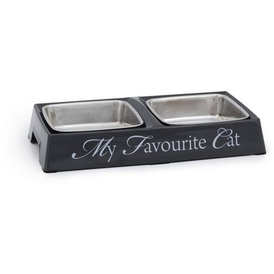 Designed By Lotte Melamine Dinerset My Favourite Cat Grijs