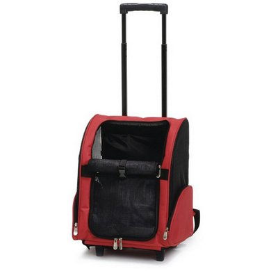 Beeztees Dogs Trolley Portable Red 35x26x42cm