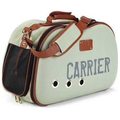 Beeztees Reiskoffer Carrier Groen 48x24x32cm