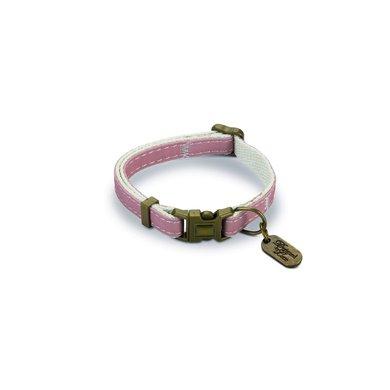 Beeztees Halsband Virante roze 20-30x10