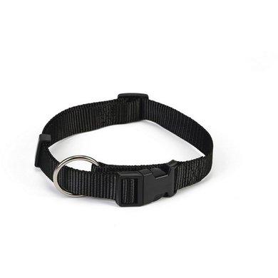Beeztees Nylon Halsband Verstelbaar Zwart