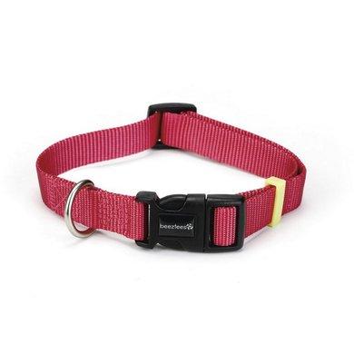 Beeztees Nylon Halsband Uni Roze
