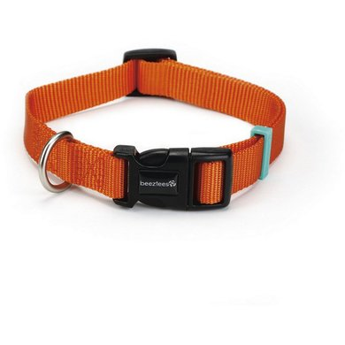 Beeztees Collar Uni Nylon Orange