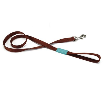Beeztees Leash Uni Nylon Light brown 120cmx25mm
