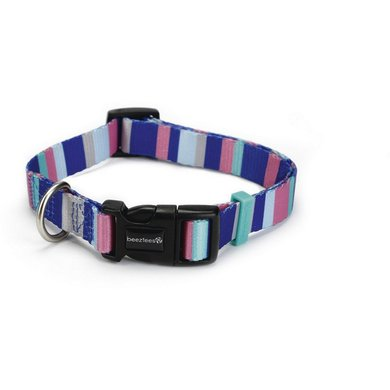 Beeztees Nylon Halsband Stripes