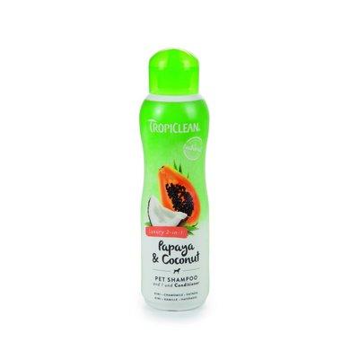 Tropiclean Papaya Coconut Shampoo + Conditioner 355ml