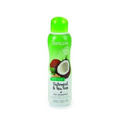 Tropiclean Oatmeal Tea Tree Shampoo 355ml