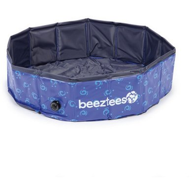 Beeztees Zwembad Doggy Dip Blauw 80cm / Hoogte 20cm