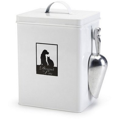 designed by lotte storage canister shovel white 18 5x16x26cm. Black Bedroom Furniture Sets. Home Design Ideas