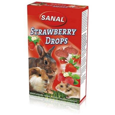 Sanal Strawberry Drops 45g