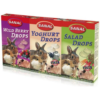 Sanal 3-pack Drops 3x45g