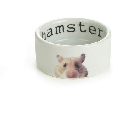 Beeztees Keramiek Hamsterbakje Snapshot Wit 75x4cm