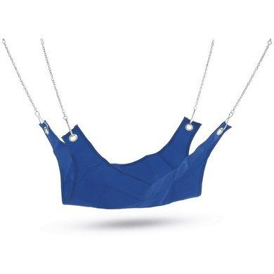 Beeztees Nylon Hangmat Voor Fretten Blauw Groen 26x26cm