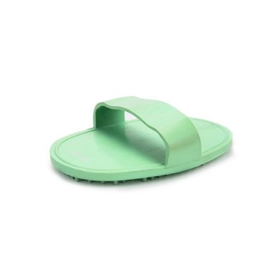 Beeztees Rubber Massageborstel Ovaal Mint 13x9cm
