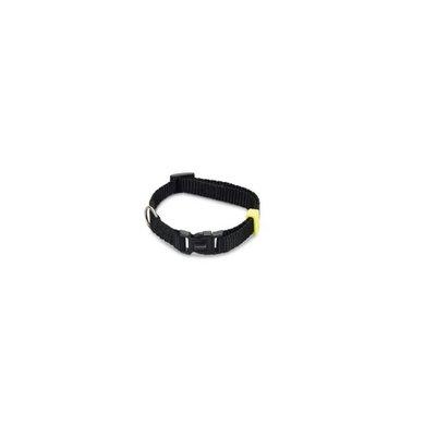 Beeztees Nylon Halsband Uni Zwart