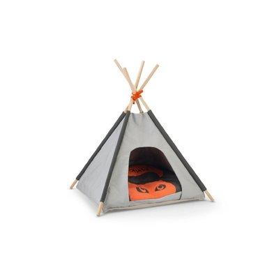 Beeztees Tipi Tent Mohaki Grijs 50x50x80cm
