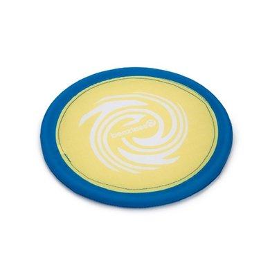 Beeztees Fetch Frisbee Nylon Geel/Blauw 25cm