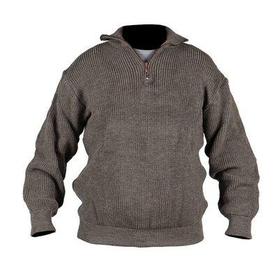 Storvik Brisbane pullover with zip 70/30 beige m