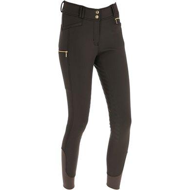 Covalliero Pantalon Équitation Softshell Dames Marron 44