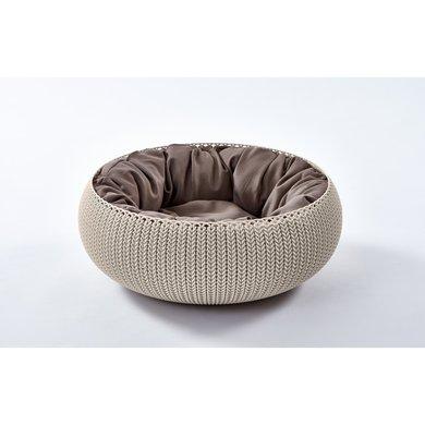 Curver Cozy Pet Bed crème 50cm 22cm