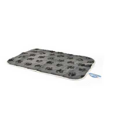Duvo+ Bed met Pootjes Grijs 75x50
