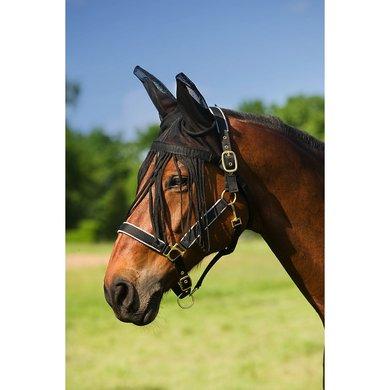 EQUITHÈME Oornetje Anti Vliegen Zwart Pony
