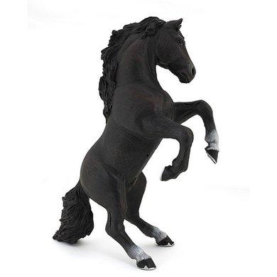 Papo Paard Zwart Stijgerend