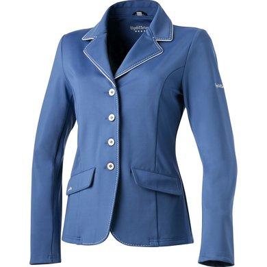 EquiThème Wedstrijdjasje Soft Couture Koningsblauw/Wit 34