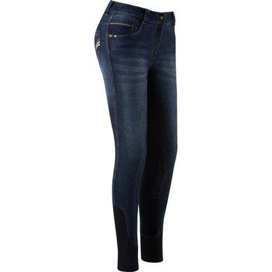 EquiThème Jeans Texas Denim Blauw/Beige