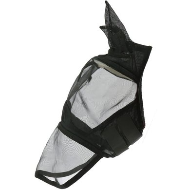 EQUITHÈME Vliegenmasker 2in1 Zwart Cob
