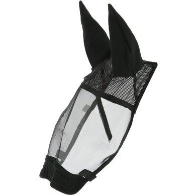 EQUITHÈME Vliegenmasker Training Zwart Cob
