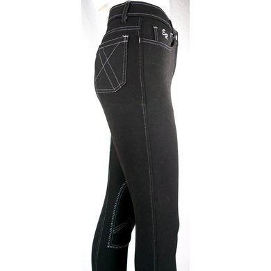 Easy Rider Rijbroek Dames Zohra Flex knee SK Black 80