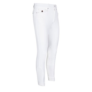 euro-star Rijbroek Heren Henry Fabric Knee White 42