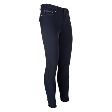 euro-star Rijbroek Heren Active KneeGrip Navy 52
