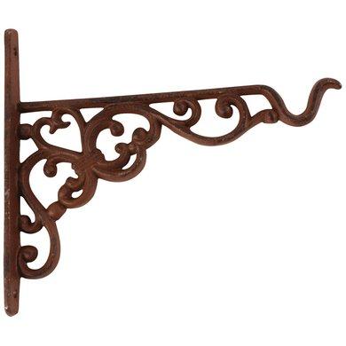 Esschert Cast iron hanging basket hook