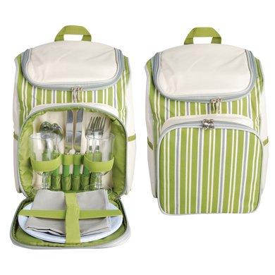 Esschert Picnic Backpack 2 P. Stripes