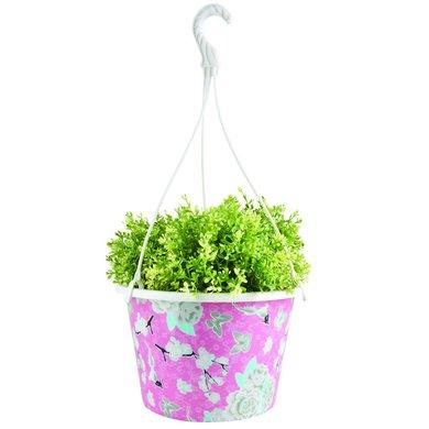 Esschert Hanging Basket Kunststoff Rosa