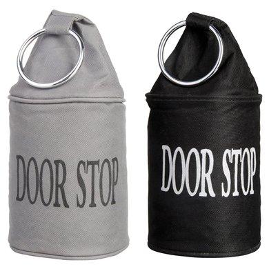 Esschert Doorstop with Ring / Grey
