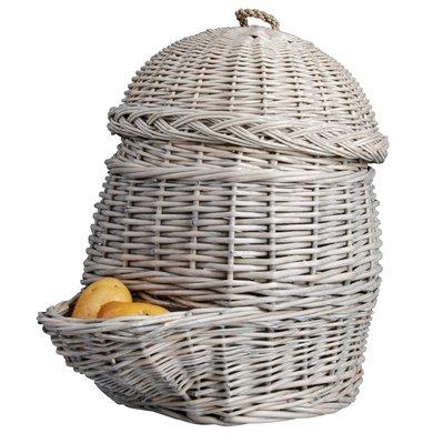 Esschert Kartoffelkorb Grau
