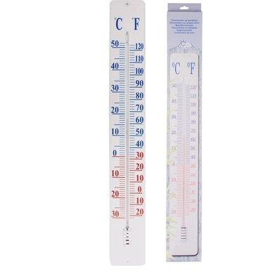 Esschert Thermomètre sur Plaque Murale