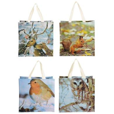 Esschert Shopping Bag Nature Print Ass 1