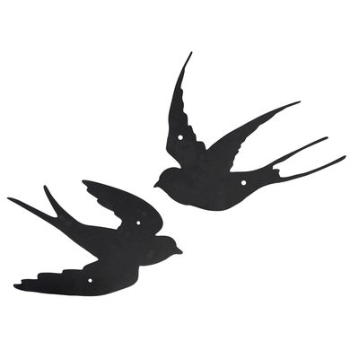 Esschert Muurdecoratie Zwaluw Assorti