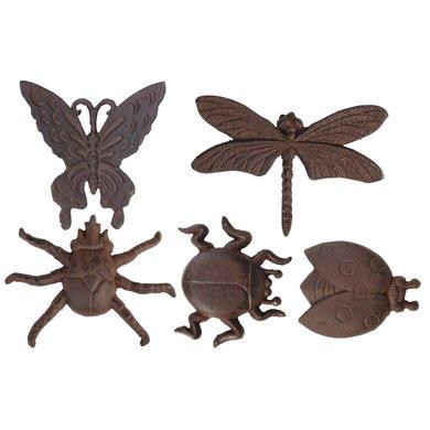 Esschert Wanddecoratie Insecten Assorti